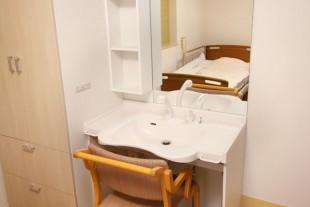 個室には「洗面所」や「クローゼット」も完備