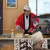 屋台で出前寿司